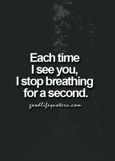You are so beautiful. The sight of YOU thrills me to my core & the thought of being with YOU makes me melt inside! I Love YOU so very much Baby! Good Life Quotes, Quotes To Live By, Best Quotes, Love Quotes, Inspirational Quotes, Romantic Love, Hopeless Romantic, Words Quotes, Sayings