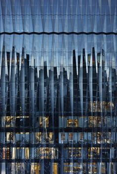 Gallery of Prix Versailles Celebrates 12 Projects for Their Outstanding Commerci. - Gallery of Prix Versailles Celebrates 12 Projects for Their Outstanding Commerci… - Building Skin, Building Facade, Building Design, Glass Building, Building Concept, Japanese Architecture, Concept Architecture, Facade Architecture, Minimalist Architecture