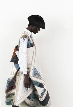 Zuoyu Shi fashion designer moda abiti colore geometrie Giappone New York…