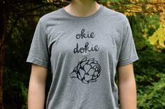 Okie Dokie Artichoke T-Shirt - Famjam Artichoke, Mens Tops, T Shirt, Fashion, Tee, Moda, La Mode, Fasion, Fashion Models