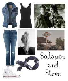 With Sodapop Curtis and Steve Randle by stay-gold-ponyboy-1 on Polyvore featuring polyvore beauty J.Crew James Perse J.TOMSON Converse