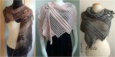 Lizard Crochet Shawl [Free Pattern] | My Hobby