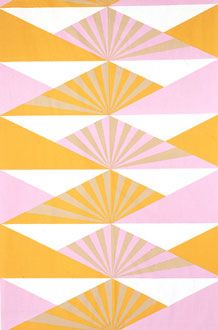 Lucienne Day's 'Sunrise' fabric, 1969.