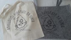 Proud of my logo on these bags...