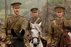 What do you know? It's World War I and our boy Benedict is leading the charge in 1912 as Major Jamie Stewart in War Horse.