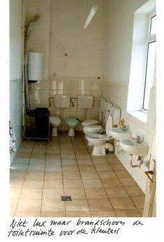 Project kleuterschool Sibiu, Roemenie. HAND sponsorde toiletten.