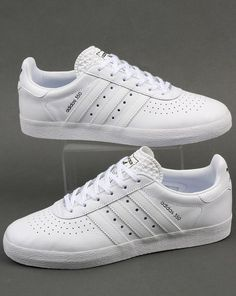 official photos bd96f 37fa9 Adidas 350 Trainers White White Fashion Sneakers, Mens Sneakers, Classic  Sneakers, White Sneakers
