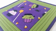 Check out this item in my Etsy shop https://www.etsy.com/listing/245116869/halloween-mug-rug-snack-mat-pot-holder