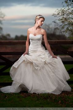 Bridal portrait idea.