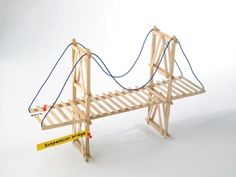 Engineering a Bridge  This lesson will involve your students in geometry and measurement as they work as civil engineers to design and build their own bridge.