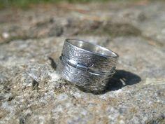UNITED  sterling silver unisex ring by SILVERSTONEbyRenata on Etsy