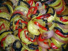 Meatless Monday: When it's time for comfort food, remember ratatouille Ratatouille Recipe Allrecipes, Ratatouille Recipe With Meat, Comfort Foods, Vegetarian Recipes, Healthy Recipes, Tasty, Yummy Food, Meatless Monday, Gastronomia