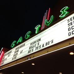 Lubbock's Cactus Theater.