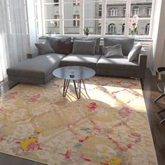 Found it at AllModern - Jolana Beige Area Rug
