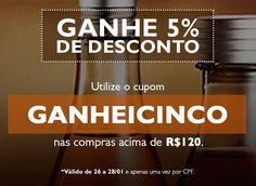 Compre Natura online com 5% de Desconto na Rede Natura Espaço Carolina do Valle