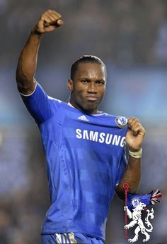 Didier Drogba will begin his second spell at Chelsea next season after agreeing a one-year deal with Jose Mourinho's side. The striker and Blues . Chelsea Fans, Chelsea Football, Football Soccer, Football Things, Legends Football, American Football, Fifa, English Premier League, Best Player