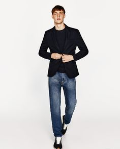 BASIC BLAZER from Zara (just the blazer, not the outfit)