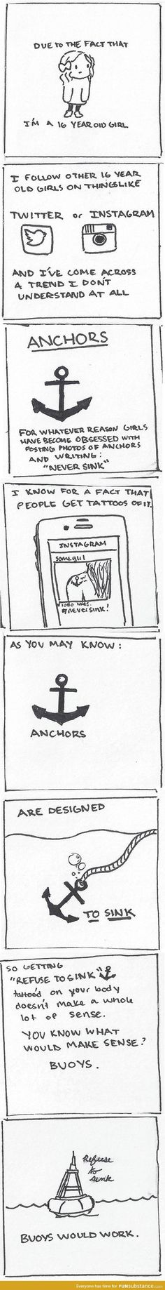 The truth about anchor tattoos