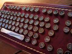 Steampunk Keyboard    --Forget Steampunk; I think I'd like the feel of the old-fashioned keys