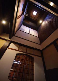 日本家屋、吹き抜け/japanese house, stairwell, entrance hall
