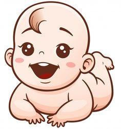 Descubre miles de vectores Premium disponibles en formato AI y EPS. Descarga lo que quieras, cancela cuando quieras. Baby Cartoon Drawing, Baby Girl Drawing, Cartoon Drawings, Baby Shawer, Cute Baby Girl, Baby Love, Baby Shower Labels, Baby Shower Templates, Scrapbook Bebe