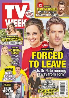 #TVWeek #magazines #covers #2016 #October #entertainment #tvguide #australian #television #celebrity #tvshows #homeandaway #neighbours