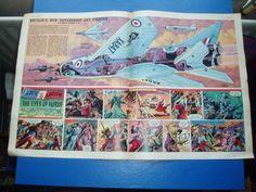 EAGLE-CUTAWAY-DRAWING-11-4-1958-ENGLISH-ELECTRIC-P-1B-JET-FIGHTER-AIRCRAFT-RAF