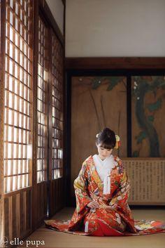 京都*日本の遺産*大覚寺での撮影 | *elle pupa blog*