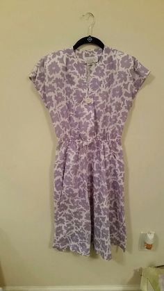 18608efce  vintage  vintagedress  lavender This is a beautiful dress! It is perfect  for