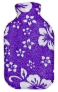 "Warm Tradition Purple Orchid Fleece Hot Water Bottle Cover - COVER ONLY- Made in USA by Warm Tradition. $9.95. A soft and cuddly fleece cover that fits Warm Tradition's standard size and other standard size hot water bottles - 12 1/2"" x 7 1/2""- Helps hold heat in longer and protects your skin too! Wraps around the hot water bottle perfectly. Machine washable. Made in the USA"