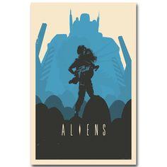 Alien Art Silk Poster Print 13x20 inch Classic Science Fiction Film Foto voor Woonkamer Wanddecoratie 001