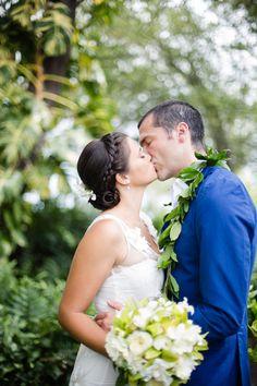 A perfect Hawaiian soiree and wedding at the Waikoloa Beach Marriott Resort & Spa on Hawaii's Big Island.