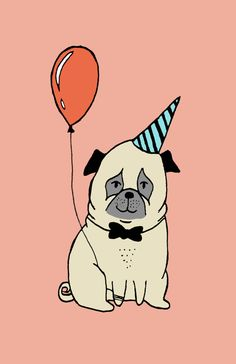 Party Pugs on Behance