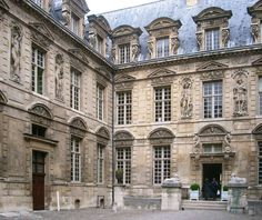 Le Marais, Hôtel de Sully, Historic Private Mansion, 48 Rue Saint-Antoine, Paris IV