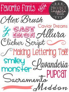 Free Fonts~