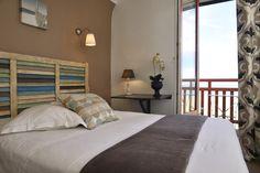 chambre triple avec balcon vue mer les charmettes saint malo