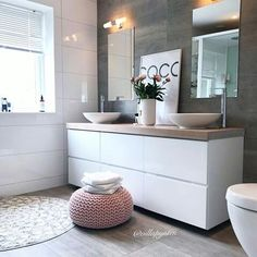 Salle de bain scandinave home interior inspo dom, wnętrza, łazienka. Bathroom Goals, Laundry In Bathroom, Bathroom Ideas, Bad Inspiration, Bathroom Inspiration, Bathroom Interior, Modern Bathroom, Simple Bathroom, Sweet Home