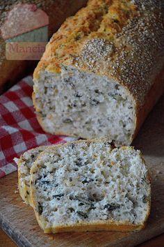 Mancia w kuchni: Chleb z ziarnami - prosty i szybki przepis