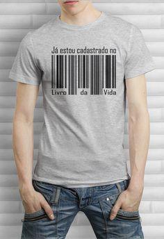 Camiseta Estou Cadastrado
