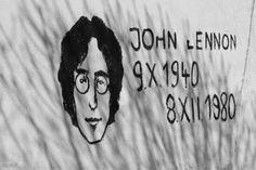 John Lennon #john #lennon #scenery #wall #street #kosice #slovakia