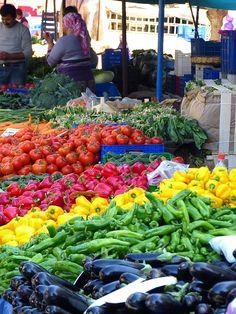 Pixabay의 무료 이미지 - 시장, 야채, 음식, 토마토, 파프리카, 가지, 건강한, 영양