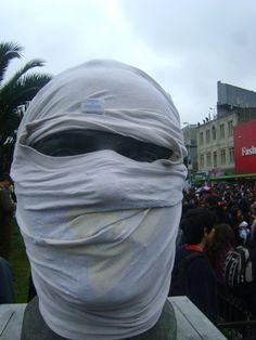Manifestante en marcha CONFECH 11/abril/2013
