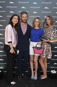 Firenze Flagship Opening - Sophie Delafontaine, Paolo Stella, Tatiana Luter and Candela Novembre