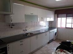 SENHOR FAZ TUDO - Faz tudo pelo seu lar !®: Instalação de uma cozinha Brico Depot em Mem Marti...