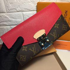 Louis Vuitton lv Pallas wallet original leather