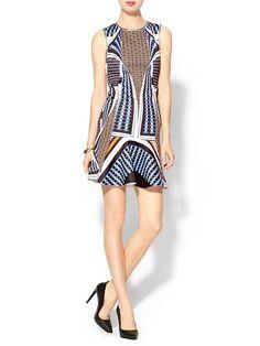 Pin for Later: Hâte de porter des robes printanières ! Robe Clover Canyon Clover Canyon Neoprene Twist Scarf Dress (322,02 €)