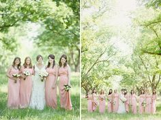 Bridesmaids and then all of the bridesmaids