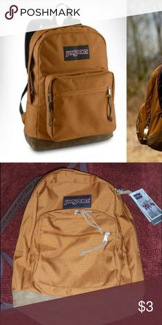 375027c6e2 ISO (COPPER BROWN) right expression jansport ISO jansport back pack COPPER  BROWN right expression willing to trade or buy for a fair price Jansport  Bags ...