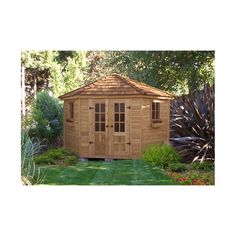 U003cstrongu003eEmilyu0027s Cabin 10 Ft. W X 12 Ft. D Wooden Portable Shedu003c/strongu003e By  Westview Manufacturing | Garden House | Pinterest | Portable Sheds, 10. And  Sheds