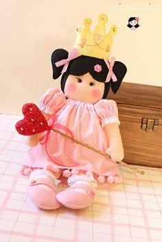 Uma princesa para a Clara ♡ by Ei menina! - Erica Catarina, via Flickr
